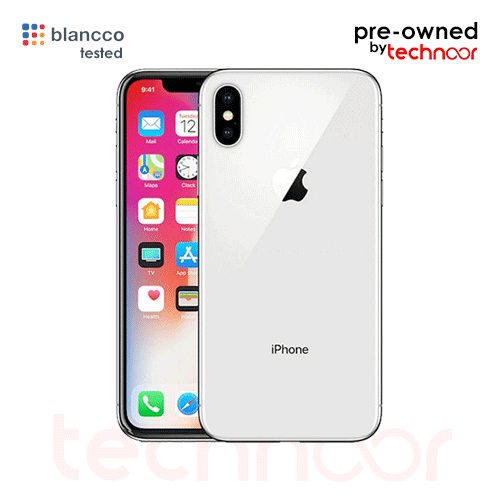 used iPhone X Silver
