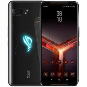 asus rog phone 2 front back view